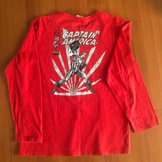 マーベル(MARVEL)のマーベル長袖Tシャツ(Tシャツ/カットソー(七分/長袖))