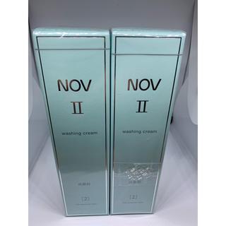 ノブ(NOV)のnov  ノブ2 洗顔料 110g  2個セット(洗顔料)
