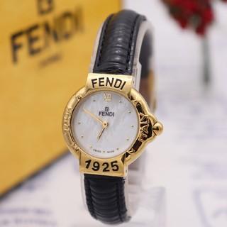 FENDI - 正規品【新品電池】FENDI 430L/ホワイトシェル 人気モデル ヴィン