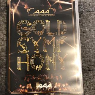 トリプルエー(AAA)のAAA ARENA TOUR 2014 -Gold Symphony- DVD(ミュージック)