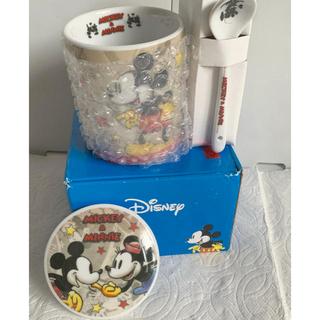 ディズニー(Disney)のDisney ミッキー&ミニー マグカップセット(キャラクターグッズ)