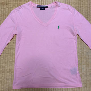 ラルフローレン(Ralph Lauren)のラルフローレン  べシック 長袖Tシャツ ピンク(Tシャツ(長袖/七分))