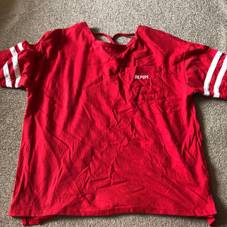 レピピ Tシャツ 赤