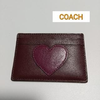 コーチ(COACH)のCOACH  コーチ  名刺入れ  カードケース(名刺入れ/定期入れ)