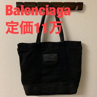 Balenciaga - Balenciaga キャンバスレザートートバッグ