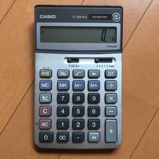 カシオ(CASIO)の計算機 CASIO 関数電卓 JS-20K eco(オフィス用品一般)