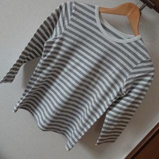 ドゥファミリー(DO!FAMILY)のDO!FAMILY 七分袖ボーダーTシャツ(Tシャツ(長袖/七分))