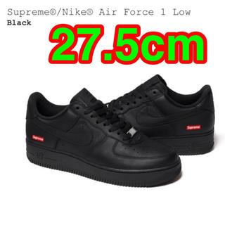シュプリーム(Supreme)のSupreme Nike Air Force 1 Low Black 27.5(スニーカー)