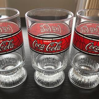 コカコーラ(コカ・コーラ)のコカコーラのグラス(グラス/カップ)