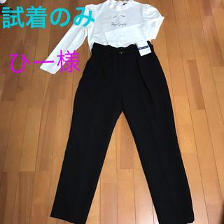 エムズグレイシー(M'S GRACY)の美品❤️エムズグレイシー  パンツ  黒  38(カジュアルパンツ)