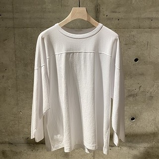 コモリ(COMOLI)のCOMOLI フットボールTシャツ(Tシャツ/カットソー(七分/長袖))