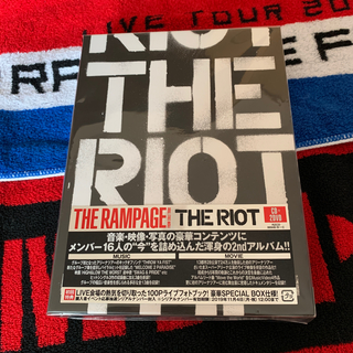 ザランページ(THE RAMPAGE)のTHE RIOT (初回限定版) THE RAMPAGE DVD(その他)