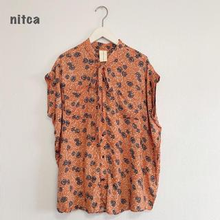 ニトカ(nitca)の【nitca】シャツ ブラウス ニトカ(シャツ/ブラウス(半袖/袖なし))