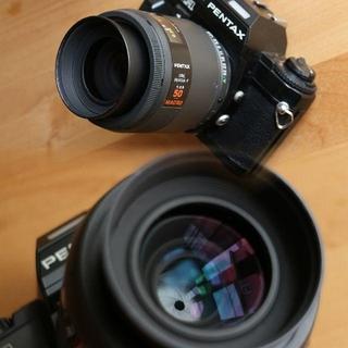 PENTAX - smc PENTAX-F 50mm F2.8 MACRO【訳有】