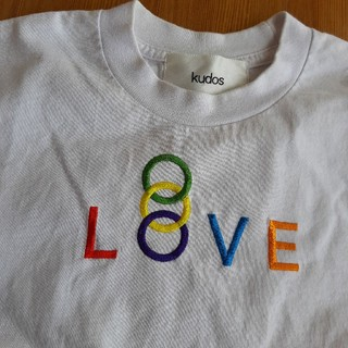 COMME des GARCONS - kudos love Tシャツ