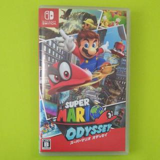 Nintendo Switch - スーパーマリオオデッセイ Switchソフト
