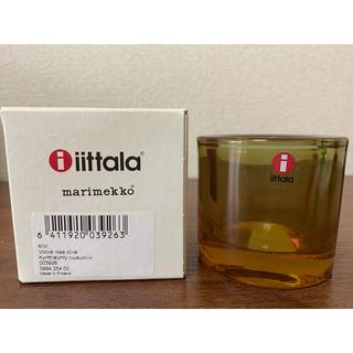 イッタラ(iittala)のkivi Rose olive iittala × marimekko(置物)