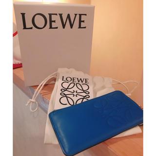 ロエベ(LOEWE)の【美品】LOEWE【Keyrings】キーリング付きコインケース(キーケース)