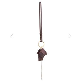 アメリヴィンテージ(Ameri VINTAGE)のosoi banglering 新品未使用 タグ付き ショルダーストラップ付(ハンドバッグ)