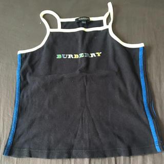 バーバリーブラックレーベル(BURBERRY BLACK LABEL)のBURBERRY GIRLS キャミソール(Tシャツ/カットソー)
