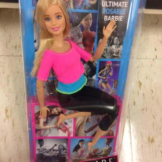 バービー(Barbie)のバービー人形 メイドトゥームーブ ヨガ エクササイズ barbie doll(ぬいぐるみ/人形)