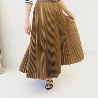 ツルバイマリコオイカワ(TSURU by Mariko Oikawa)のTSURU by mariko oikawa プリーツスカート(ロングスカート)