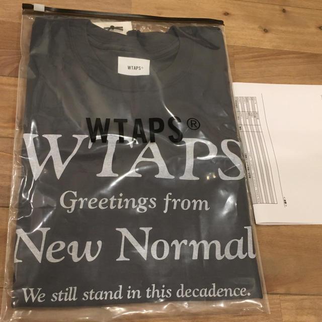 W)taps(ダブルタップス)のWTAPS NEW NORMAL TEE 201PCDT-ST17S メンズのトップス(Tシャツ/カットソー(半袖/袖なし))の商品写真