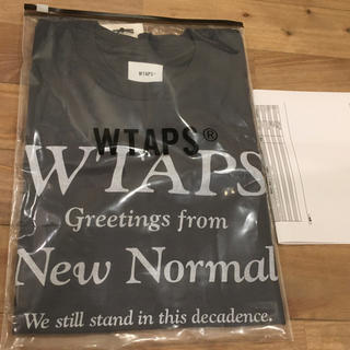 W)taps - WTAPS NEW NORMAL TEE 201PCDT-ST17S