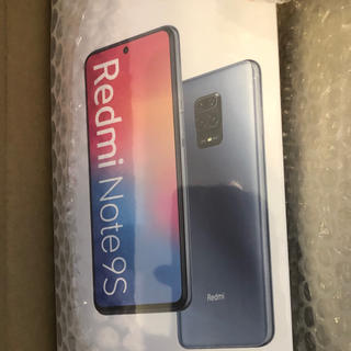 Xiaomi Redmi Note 9S 64GB シムフリー  ブルー国内版(スマートフォン本体)