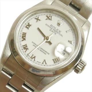 ロレックス(ROLEX)の美品 ロレックス イスターパーペチュアル デイトレディース時計 79160(Y)(腕時計)