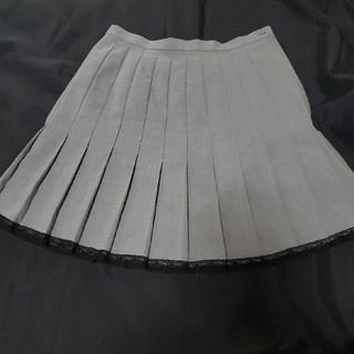 スコットクラブ(SCOT CLUB)のSCOT CLUB 裾レース プリーツスカート(ひざ丈スカート)