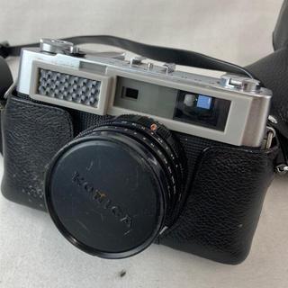 コニカミノルタ(KONICA MINOLTA)の☆決算セール☆ Konica カメラ  シルバー ケース付き レンズ ブラック(フィルムカメラ)
