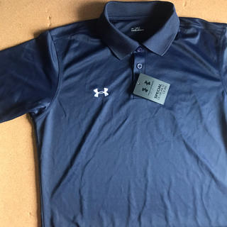 アンダーアーマー(UNDER ARMOUR)の【新品】アンダーアーマー 半袖 ポロシャツ プラクティスシャツ(ウェア)