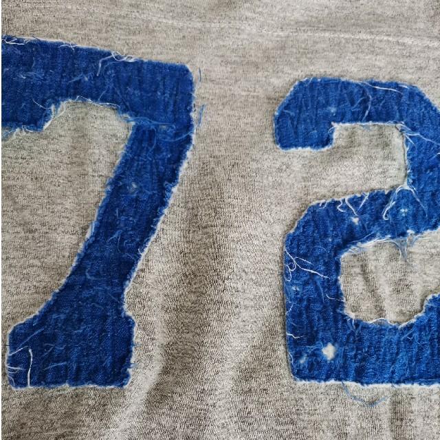 DENIM DUNGAREE(デニムダンガリー)のデニム&ダンガリー★7分袖フットボールTシャツ★150cm キッズ/ベビー/マタニティのキッズ服男の子用(90cm~)(Tシャツ/カットソー)の商品写真