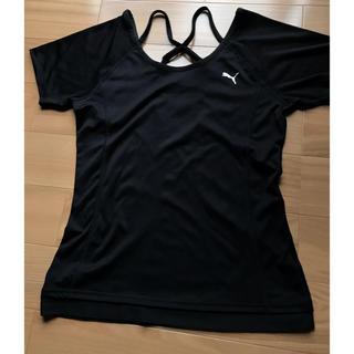 PUMA - PUMAレディースSサイズ バッククロスドライTシャツ
