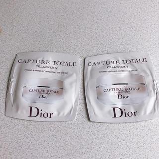 ディオール(Dior)のDior カプチュールトータルセルアイクリーム(サンプル/トライアルキット)