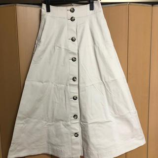 イエナスローブ(IENA SLOBE)のギャバスカート(ロングスカート)