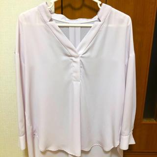 エージーバイアクアガール(AG by aquagirl)のくすみピンクシャツ(シャツ/ブラウス(長袖/七分))
