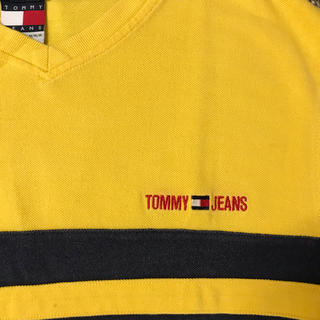 トミーヒルフィガー(TOMMY HILFIGER)の90s Tommy Hilfiger 2トーン Tシャツ(Tシャツ/カットソー(半袖/袖なし))