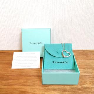 Tiffany & Co. - 未使用 TIFFANY&Co. オープンハート 22㎜ silver925