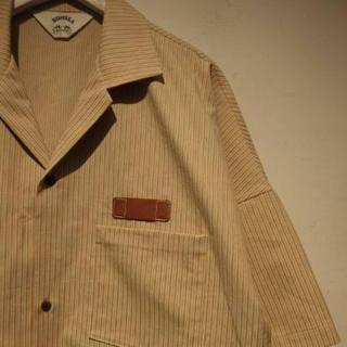 サンシー(SUNSEA)のSUNSEA buena vista stripe shirt 2(シャツ)