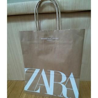 ザラ(ZARA)のZARA ショッパー 約22cm×26cm×10cm(ショップ袋)