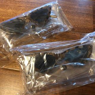 アリシアスタン(ALEXIA STAM)のALEXIA STAMノベルティ キャットサングラス2個(サングラス/メガネ)