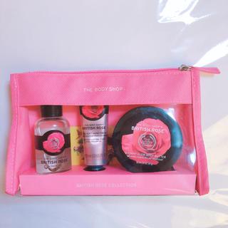 ザボディショップ(THE BODY SHOP)のTHE BODY SHOP British rose collection(ボディクリーム)