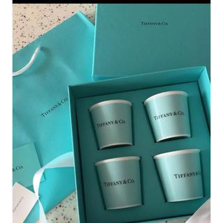 ティファニー(Tiffany & Co.)のティファニー エスプレッソカップ 4個セット (グラス/カップ)