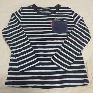 kladskap - クレードスコープ☆ボーダー長袖Tシャツ  110