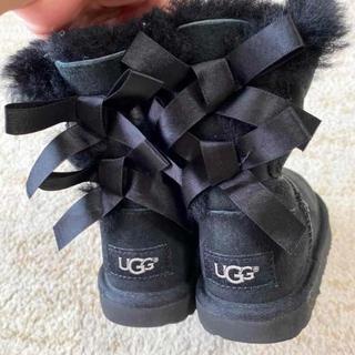 アグ(UGG)のアグ UGG  ブーツ キッズブーツ リボン(ブーツ)