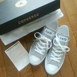 CONVERSE - ☆新品タグ付☆コンバース オールスターライト スリッポン グレー