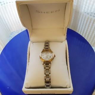 カシオ(CASIO)のカシオ シーン 電波タフソーラー レディース腕時計(腕時計)