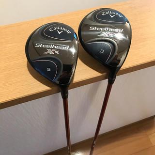キャロウェイゴルフ(Callaway Golf)の値下げ キャロウェイ スチールヘッドXR FW 3W 5W(クラブ)